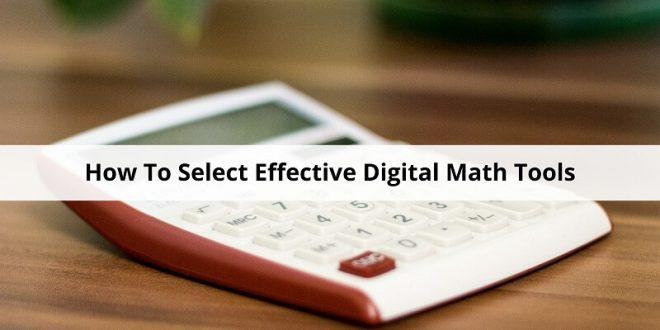 Digital Math Tools