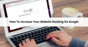 Increase Your Website Ranking On Google