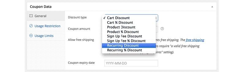 Subscription Discounts