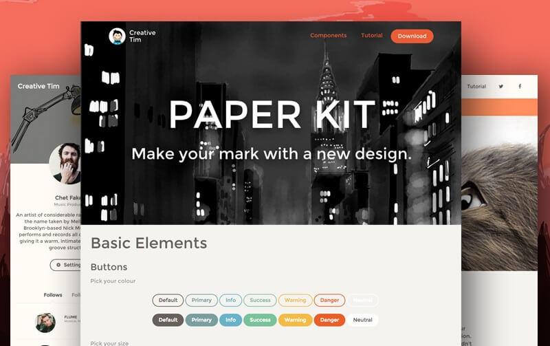 Paper UI Kit