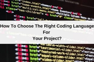 How To Choose The Right Coding Language